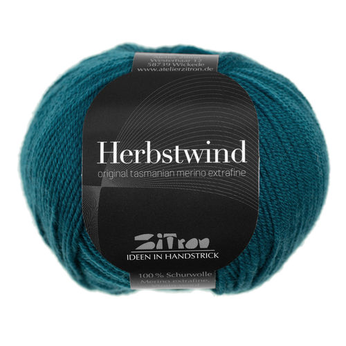 Herbstwind Farbe 21   petrol    v. Atelier Zitron